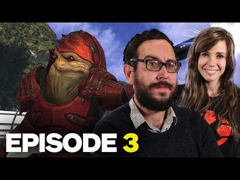 Marty Plays Mass Effect: Part 3 - Get Wrex'd