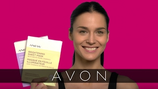 How to Apply Anew Sheet Masks | Avon