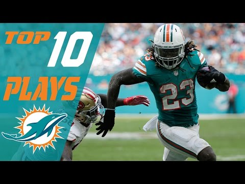 Dolphins Top 10 Plays of the 2016 Season | NFL Highlights