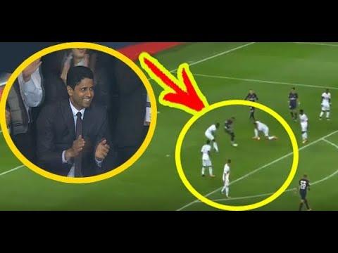 شاهد الحركة التي جعلت ناصر الخليفي يقف من مكانه و يصفق لنـيمار