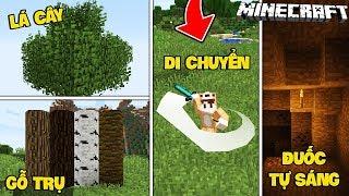 TOP 5 THỨ GIÚP MINECRAFT CỦA BẠN TRỞ NÊN THỰC TẾ HƠN (Minecraft Mẹo Vặt #2)
