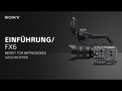 Die α Cinema Line Kamera FX6 von Sony