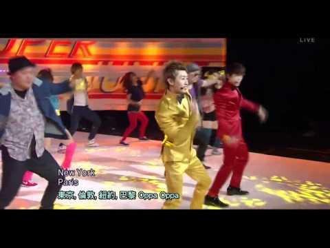 [LIVE 繁中字] 111218 Super Junior (Donghae & Eunhyuk) - Oppa Oppa @ ComeBack Stage