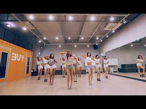 SISTAR (씨스타) - SHAKE IT Dance Practice Ver. (Mirrored)