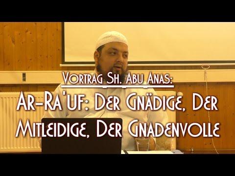 AR-RA'UF: DER GNÄDIGE, DER MITLEIDIGE, DER GNADENVOLLE mit Sh. Abu Anas, 29.01.2016 in BS
