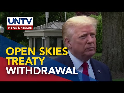 US to withdraw from Open Skies Treaty