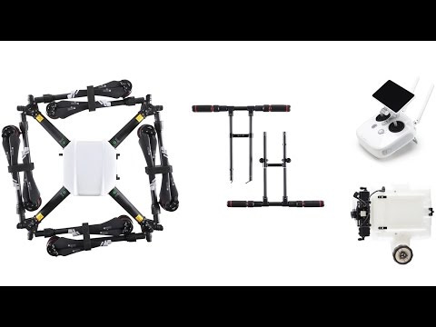 video DJI Agras MG-1S Professional Crop Sprayer