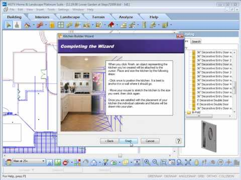 HGTV Home Design Software - Design Wizards