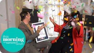 Alison Helps Hugh Jackman Fulfil His Lifelong Dream | This Morning