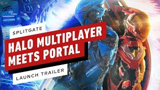 Splitgate Arena Warfare: Halo Multiplayer + Portal FPS Looks AWESOME