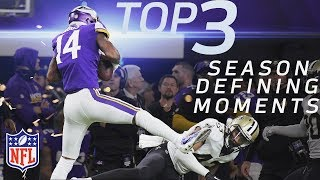 Top 3 Season-Defining Moments on the Road to Super Bowl LII for Final 4 Teams | NFL Highlights