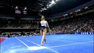 Shawn Johnson - Floor Exercise - 2008 Visa Championships - Day 2