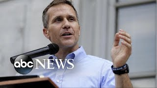 Missouri Governor claims no blackmail in extramarital affair