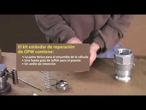 Reparación y Mantenimiento del Adaptador OPW Kamvalok