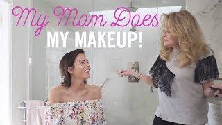 My Mom Does My Makeup! | Day to Night Makeup Tutorial | Jenna Dewan Tatum