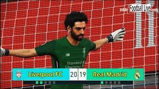 PES 2018 | SALAH (goalkeeper) vs RONALDO (goalkeeper) | Penalty Shootout | Liverpool vs Real Madrid
