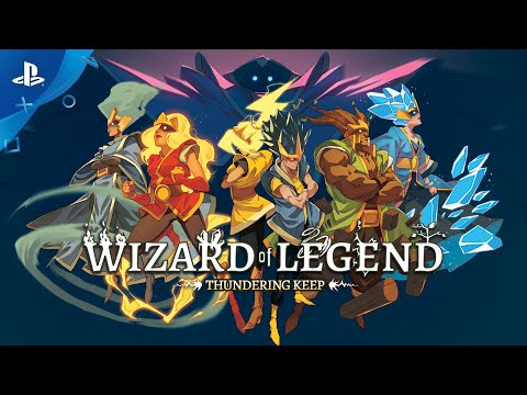 Humble Bundle Presents: Wizard of Legend - Thundering Keep Update Trailer | PS4