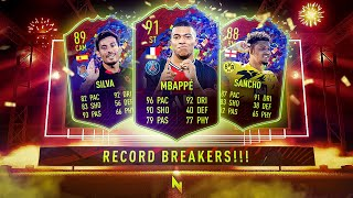 NEW RECORD BREAKERS IN PACK! - FIFA 21 Ultimate Team