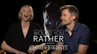 "The Cast of Game of Thrones Plays ""Would You Rather"""