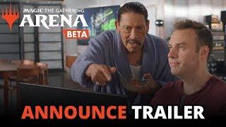 Magic: The Gathering Arena - Open Beta Announce Trailer