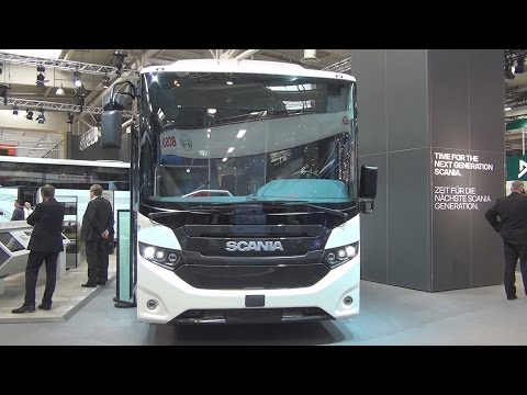 Scania Interlink LD Bus Exterior and Interior in 3D