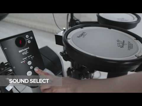 Roland TD1KPX2 Portable Electronic Drum Kit + Extras Bundle