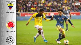 Ecuador 0-1 Colombia - HIGHLIGHTS & GOALS - 11/19/19