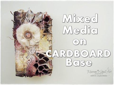 Mixed Media on Cardboard Base ♡ Maremi's Small Art ♡
