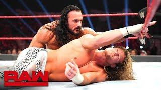 Dolph Ziggler vs. Drew McIntyre: Raw, Dec. 10, 2018