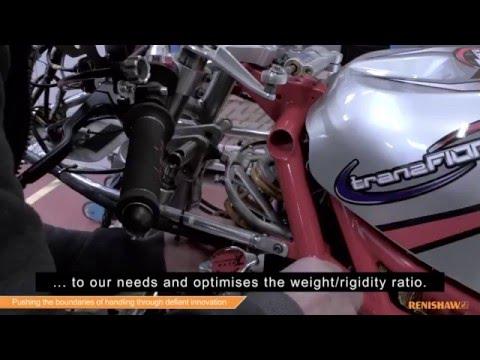 Metal 3D printing contributes to Moto2 bike handling