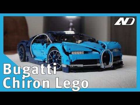 Lego Bugatti Chiron - Primer Vistazo