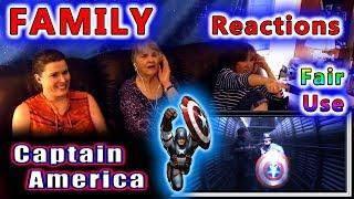Captain America | FAMILY Reactions | FAIR USE | The First Avenger