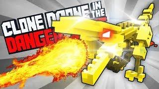 POBBROSE ĐẠI CHIẾN KHỦNG LONG BẠO CHÚA !!! (đấu trường robot)   Clone Drone in the Danger Zone ✔