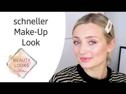 natürliches und schnelles Make-Up mit Olesja