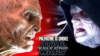 The Rise Of Skywalker Palpatine Is Snoke! HUGE News Leaked Hints (Star Wars Episode 9)