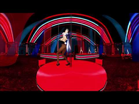 360°MMD 3D Express Pole Dance by Sky Yuki