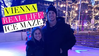 ICE SKATING A MAZE IN VIENNA!! | Shawn + Andrew