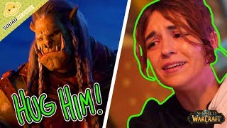 HE DIDN'T DESERVE THIS!   World of Warcraft Old Soldier Reaction