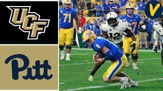 NCAAF Week 4 #15 UCF vs Pitt College Football Full Game Highlights