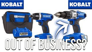 KOBALT TOOLS GOING OUT OF BUSINESS??