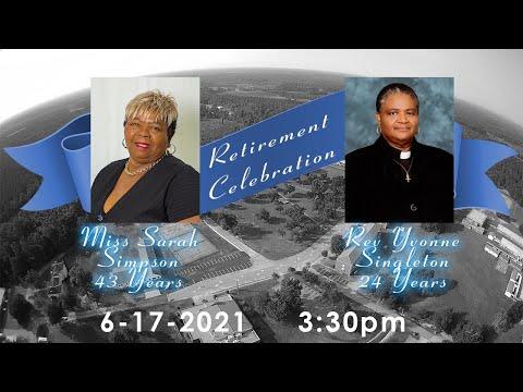 Retirement Celebration - Ms. Sarah Simpson & Rev. Yvonne Singleton