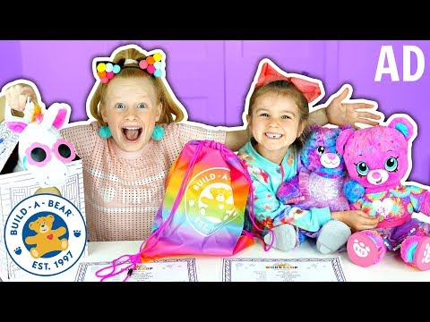 HUGE BUILD-A-BEAR SHOPPING HAUL!