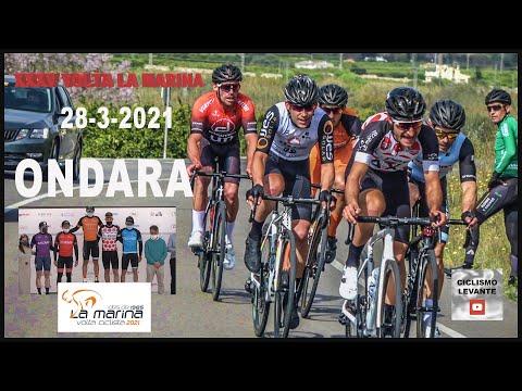 XXXV Volta a La Marina ONDARA 28-3-2021 Ciclismo 4k
