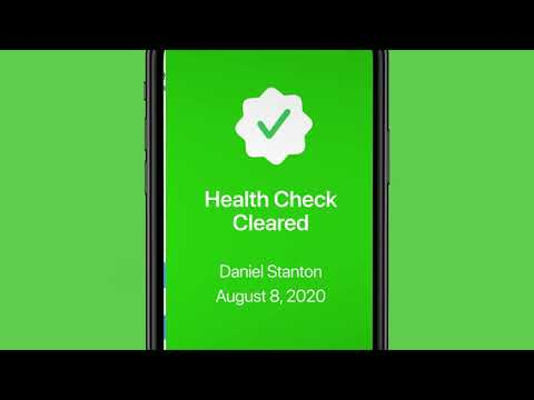 Video: TeamSnap launches new COVID-19 health screening tool to help youth sports teams and organizations manage the safe return to sport.