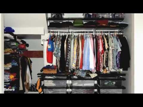 TSDC Before and After: Dream Closet Door Winner Scott Cox