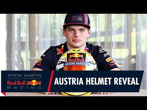 Max Verstappen reveals special helmet design for the Austrian Grand Prix
