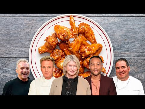 "Which Celebrity Has The Best Wings Recipe"" ? Tasty"