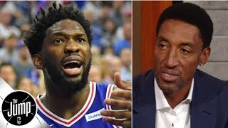 Joel Embiid being overweight has been his biggest problem - Scottie Pippen | The Jump