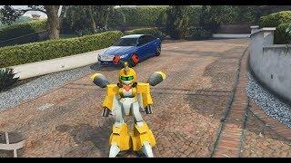 GTA 5 - Giấc mơ trở thành anh hùng cùng Đồ chơi Robot | GHTG