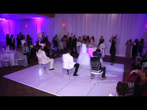 Bride Does Beyonce Surprise Wedding Dance With Bridesmaids